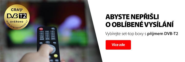 Připravte se na nové vysílání s DVB-T2 televizí