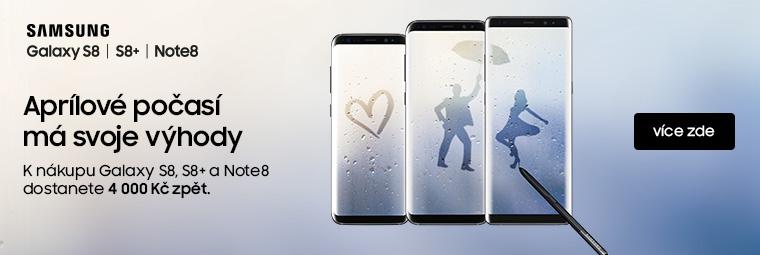 Nenechte si ujít cashback 4 000 Kč na telefony Samsung