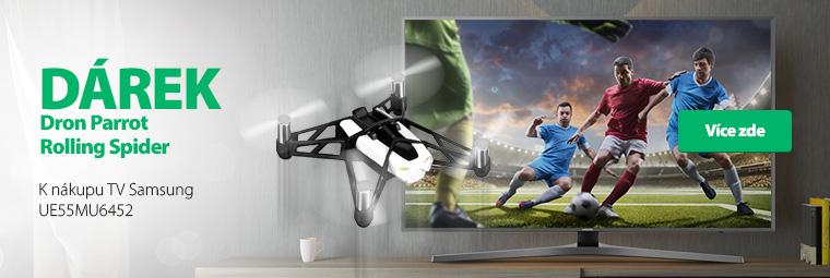 Televize s dárkem