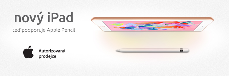 "Novinka: 9,7"" iPad s podporou Apple Pencil"
