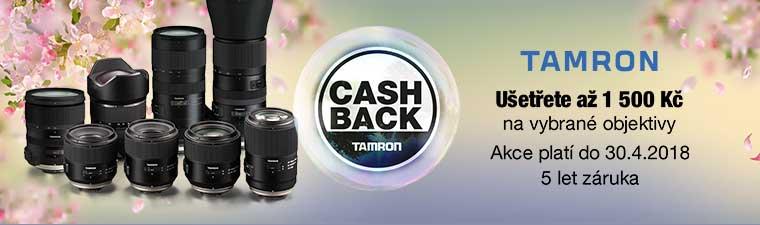 Šance pro fotografy! Objektivy Tamron s bonusem až 1 500 Kč!