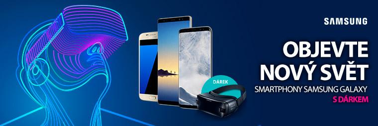 Samsung Galaxy a dárek brýle pro virtuální realitu