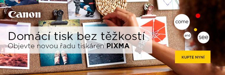 Novinky od Canon – multifunkční tiskárny Canon PIXMA