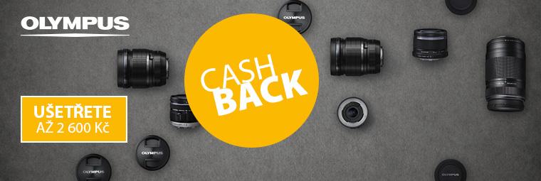 Získejte cashback až 2 600 Kč s fotoaparáty Olympus