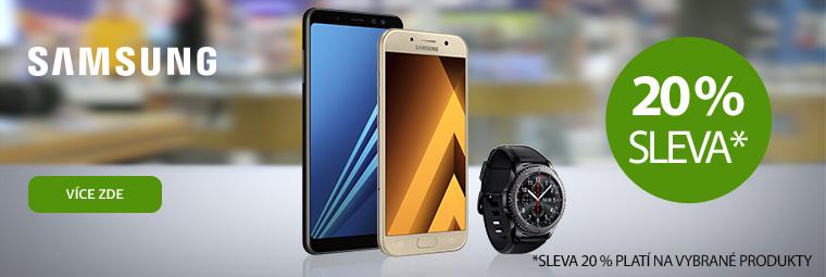 Za vysvědčení 20% sleva na Samsung