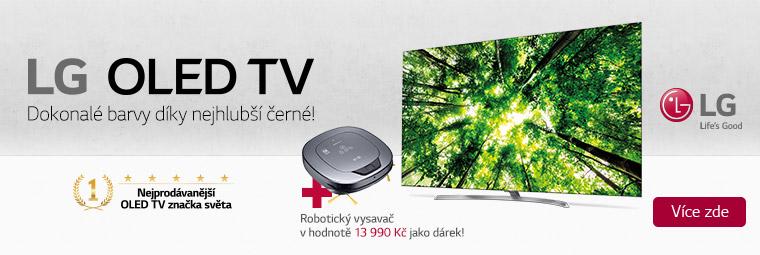 TV LG OLED65B7V s hodnotným dárkem