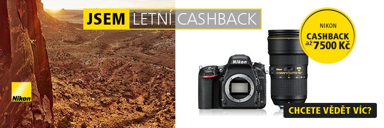 Foto výbava Nikon s Cashbackem
