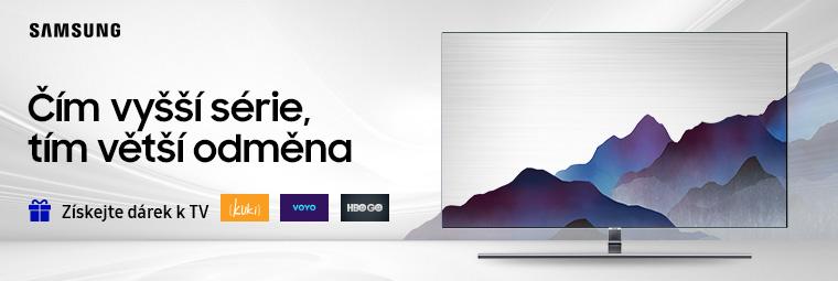 Atraktivní dárek k televizím Samsung