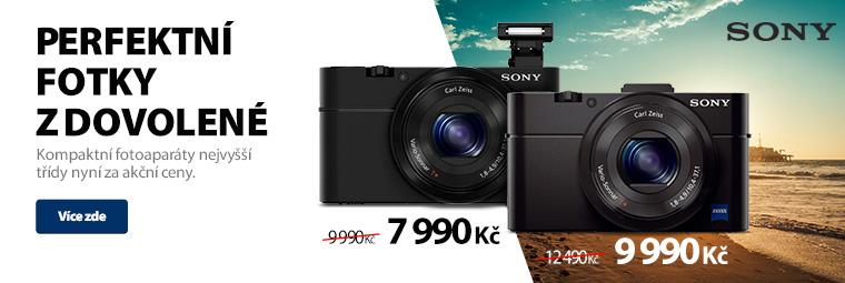 Fotoaparáty Sony za akční ceny