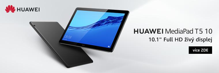 Skvělý displej i výbava, to je tablet Huawei MediaPad T5