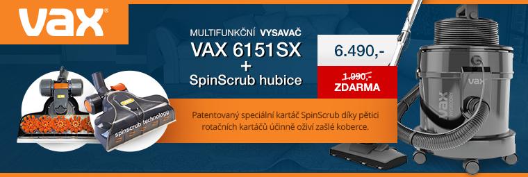 Vybavte si domácnost novým vysavačem VAX. Nyní s dárkem zdarma