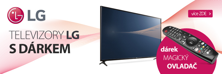Smart televize LG s magickým dárkem
