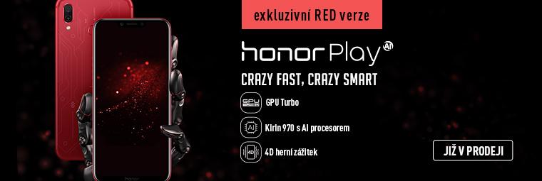 Výkonný telefon za super cenu! To je Honor Play