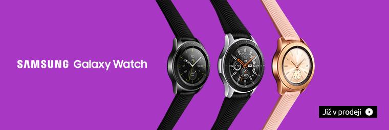 Samsung Galaxy Watch: špičkové hodinky k vašim službám