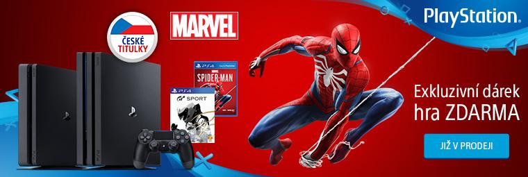 Zachraňte New York se Spidermanem a konzolí PS4