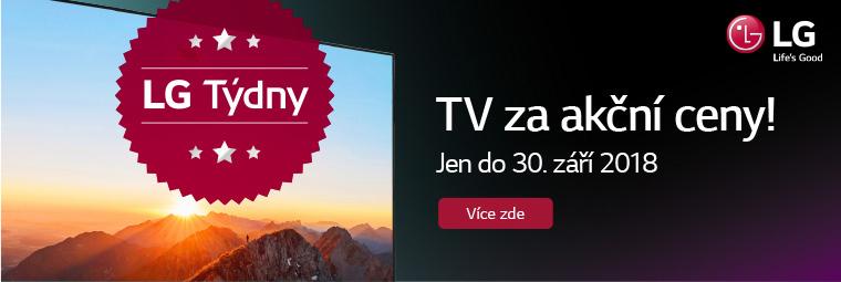 Užijte si LG týdny! Skvělé TV za super ceny