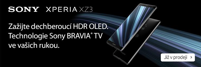To nejlepší od Sony! Objednejte si špičkovou Xperii XZ3