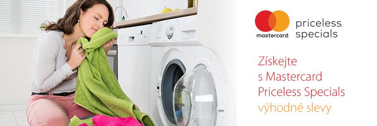 Ušetřete díky Master Card na pračkách, chladničkách a dalším zboží