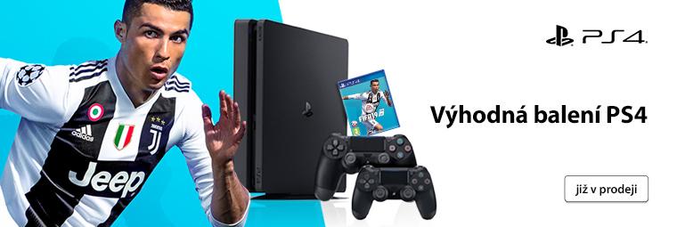FIFA 19 a druhý ovladač ke konzoli PlayStation 4