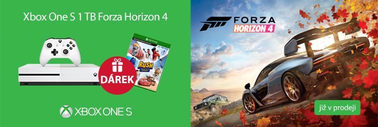 Podzimní herní nadílka s Xbox One S