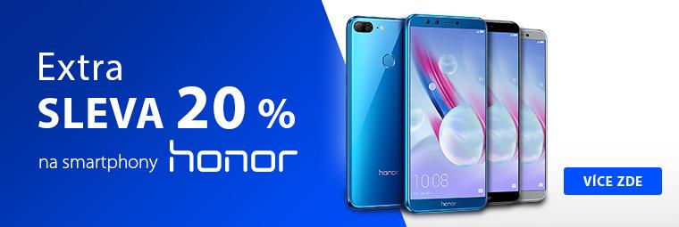 Nákupy Ona Dnes: smartphony Honor se slevou 20 %
