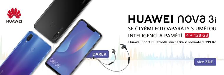 Nový Huawei nova 3i se super dárkem