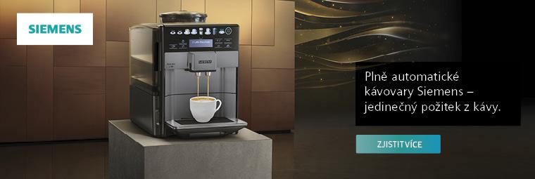 Siemens EQ.6 plus – machr na lahodnou kávu