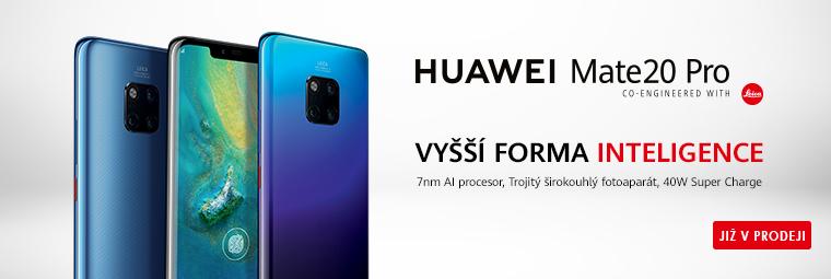 Huawei Mate 20 Pro: luxusně vybavený smartphone