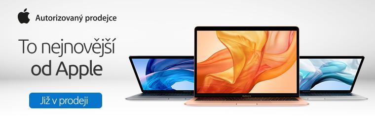 Podzimní pecky od Apple! Udělejte si radost iPadem či Macbookem
