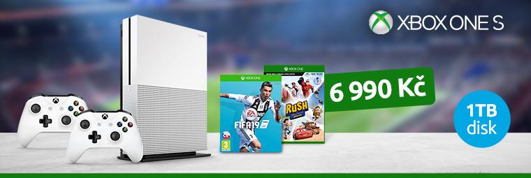 Nechte se vtáhnout do hry s Xbox One S a dárky navíc