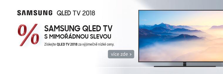 Špičkové QLED TV Samsung za výprodejové ceny