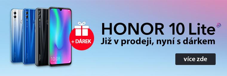 Novinka Honor 10 Lite: krasavec za dobrou cenu