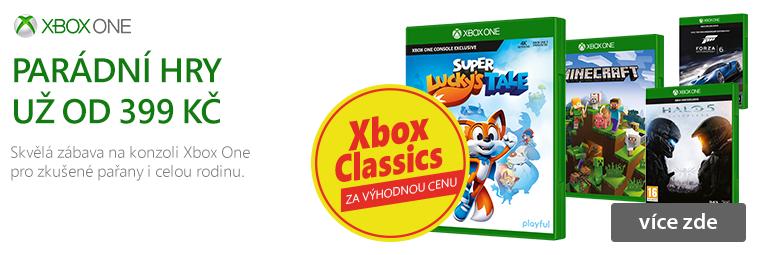 Xbox One hry  za zvýhodněnou cenu