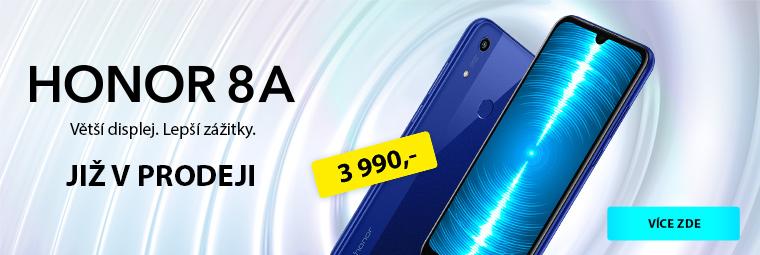 Honor 8A právě v prodeji