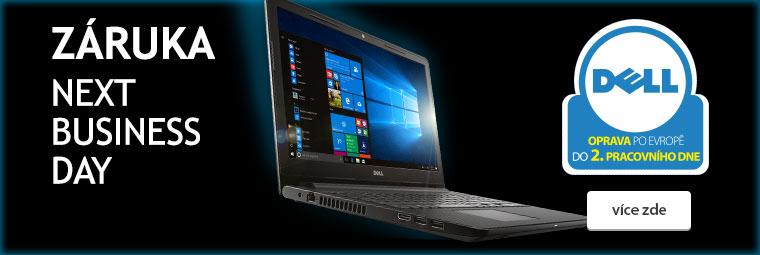 Nadstandardní záruční servis k notebookům Dell
