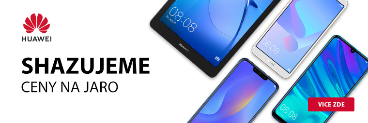 Užijte si jaro s novou elektronikou! Huawei snižuje ceny