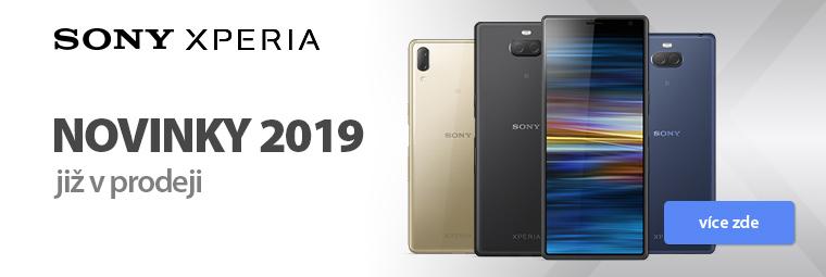 Novinky Sony Xperia