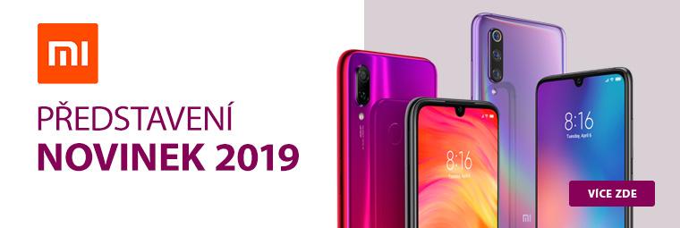 Novinky Xiaomi 2019