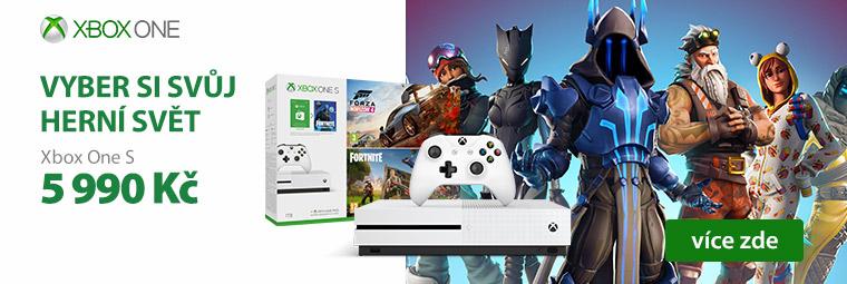 Velikonoční nadílka Xbox One S s hrou podle vašeho výběru