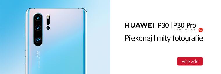 Huawei P30 series přichází! Využijte speciální nabídku