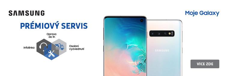 Smartphony Samsung Galaxy s prémiovou službou