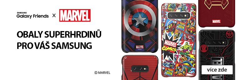 Vyzbroj svůj Samsung S10 novým krytem a bojuj po boku zbylých Avengers!