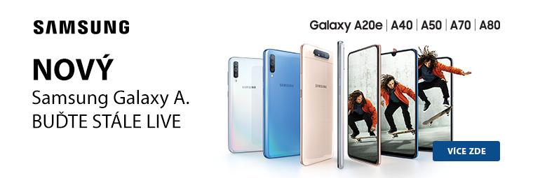 Buďte ve spojení s novou řadou smartphonů Samsung Galaxy A