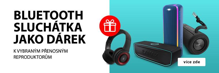 Vyberte si přenosný reproduktor a získejte Bluetooth sluchátka jako dárek
