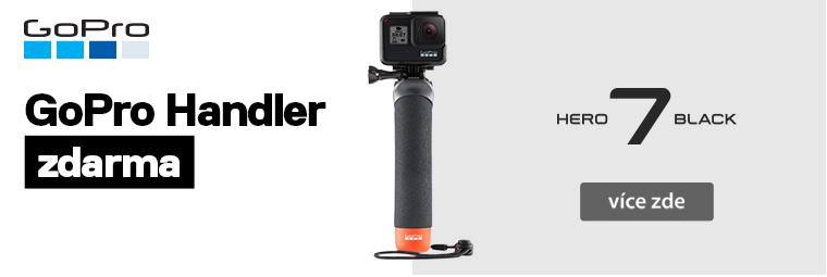Outdoorová kamera GoPro HERO 7 Black + dárek