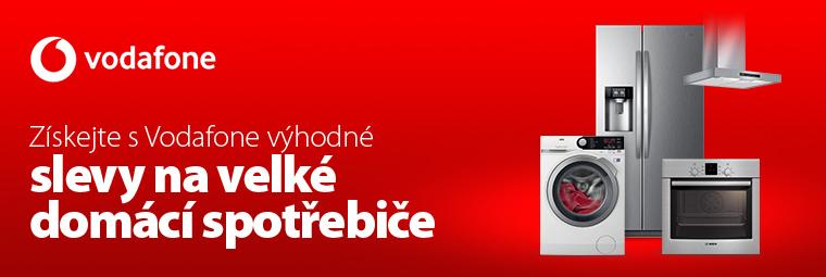 Všechny velké domácí spotřebiče s 10% slevou díky Vodafone