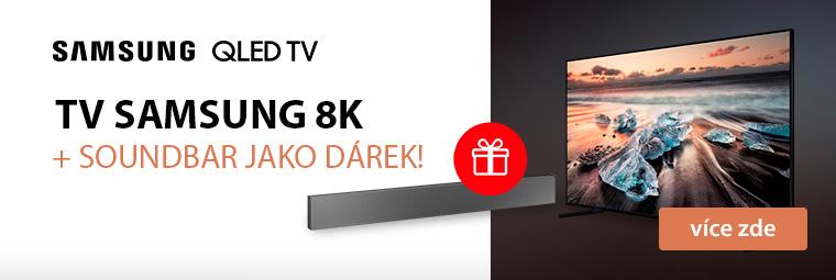 Špičkové 8K televize Samsung se super dárkem