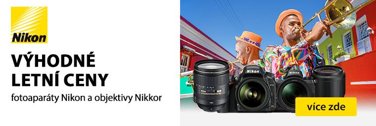 Pořiďte si za akční cenu vybrané produkty Nikon právě teď