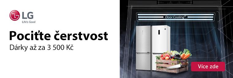 Špičková chladnička a k tomu dárek ve výši až 3 500 Kč