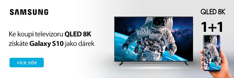 Kupte si TV Samsung 8K a těšte se na dárek – smartphone Samsung Galaxy S10!